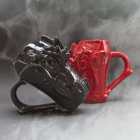 Dragon Head Chalice - (Red)