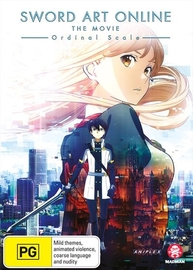 Sword Art Online: The Movie - Ordinal Scale on DVD