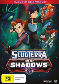 SlugTerra: Into The Shadows on DVD
