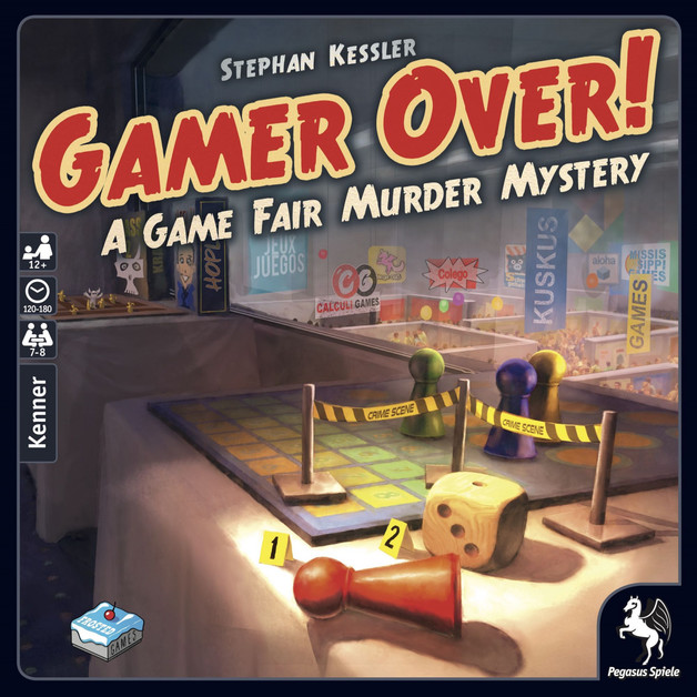 Gamer Over! - A Game Fair Murder Mystery