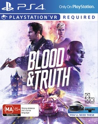 Blood & Truth VR for PS4 image