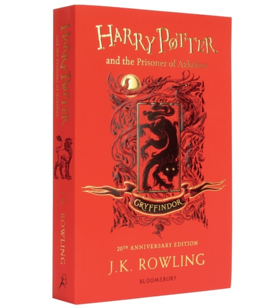 Harry Potter and the Prisoner of Azkaban – Gryffindor Edition (Paperback) by J.K. Rowling