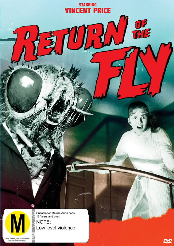 Return Of The Fly on DVD