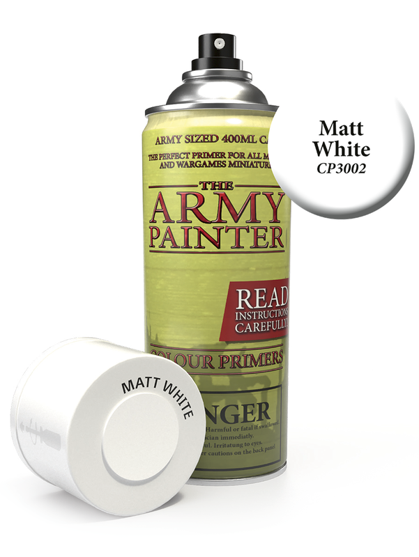 Army Painter: Colour Primer - Matt White