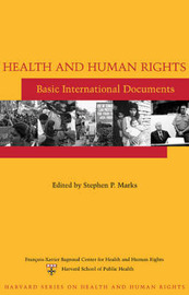 Health and Human Rights: Basic International Documents image