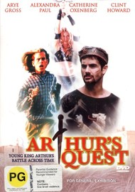 Arthur's Quest on DVD image