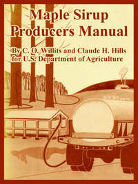 Maple Sirup Producers Manual by C. O. Willits image