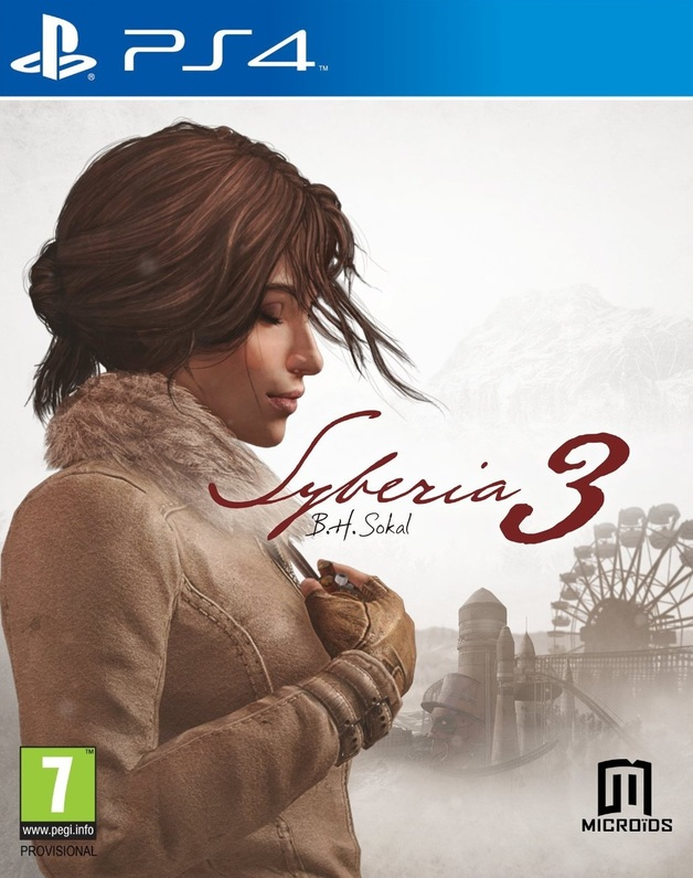 Syberia 3 for PS4