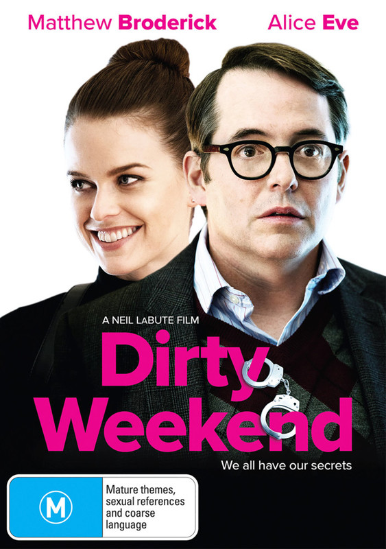 Dirty Weekend on DVD