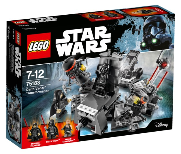 LEGO Star Wars - Darth Vader Transformation (75183)