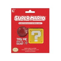 Super Mario Question Block Keyring Light image