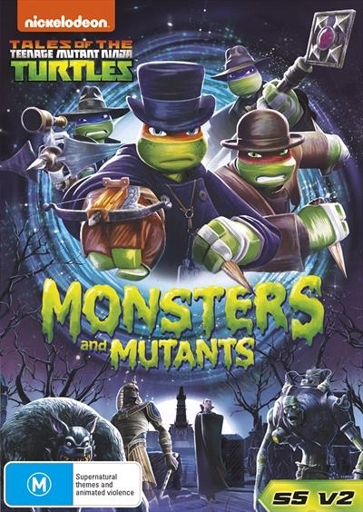 Teenage Mutant Ninja Turtles: Monsters And Mutants on DVD image