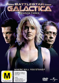 Battlestar Galactica 2006  - Season 3 (5 Disc Slimline Set) on DVD