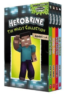 Herobrine: The Wacky Collection Books 1-4 Boxset by Zack Zombie