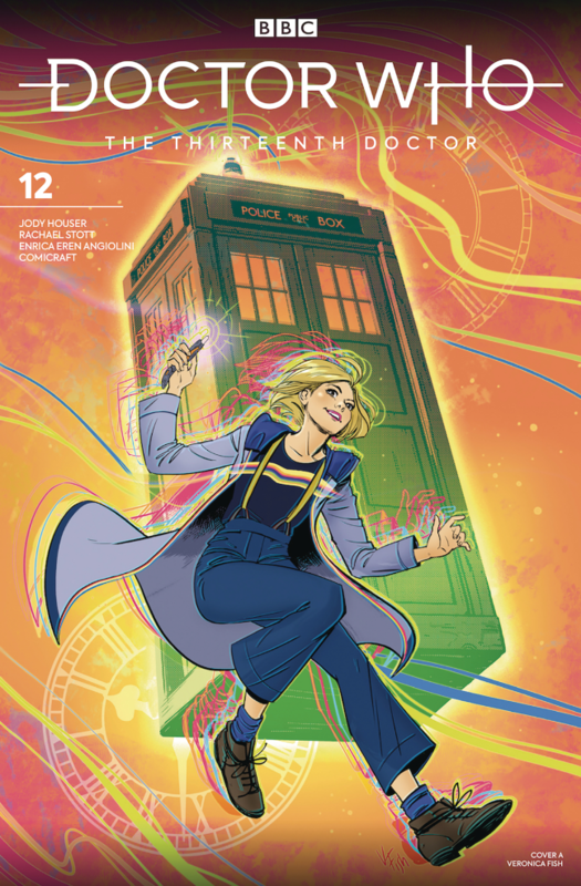 Doctor Who: The Thirteenth Doctor - #12 (Cover A) by Jody Houser