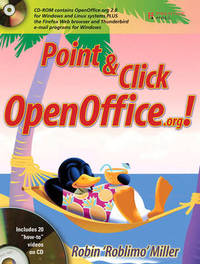 Point and Click Openoffice.Org by Robin Miller image