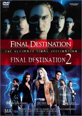 Final Destination 1 & 2 - Ultimate Double Pack (2 Disc Set) on DVD