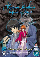 Rurouni Kenshin - V9 - Heart Of The Sword on DVD