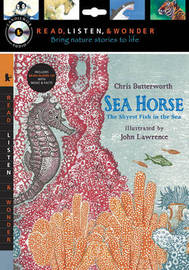 Sea Horse with Audio, Peggable: The Shyest Fish in the Sea: Read, Listen, & Wonder by Chris Butterworth image