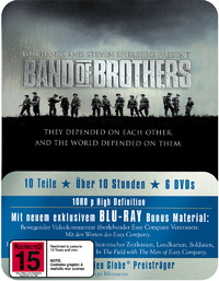 Band of Brothers - Special Tin Edition Packaging (6 Disc Box Set) on Blu-ray