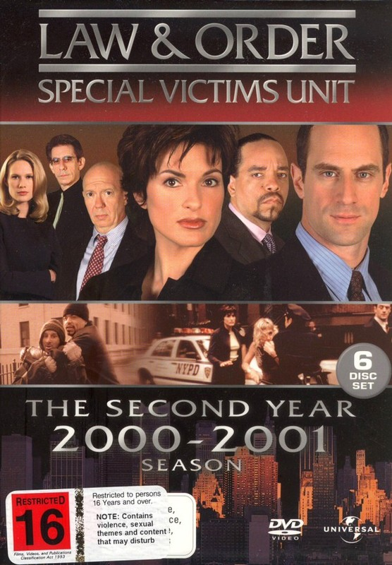 Law & Order - Special Victims Unit: Season 2 (6 Disc Box Set) on DVD