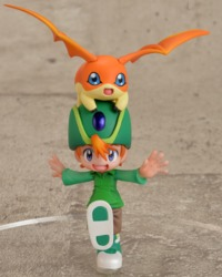 Digimon: 1/10 G.E.M. Takeru Takaishi & Patamon