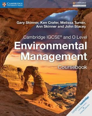 Cambridge IGCSE (R) and O Level Environmental Management Coursebook by Gary Skinner image
