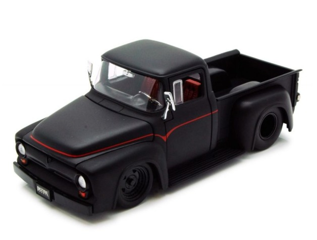Jada: 1/24 Btm Ford F100 – Diecast Model (Black)