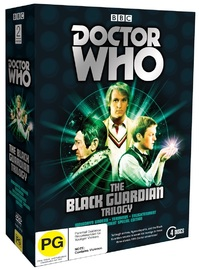 Doctor Who: The Black Guardian Trilogy on DVD