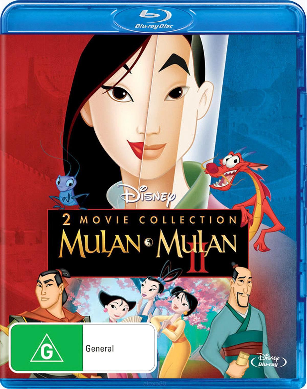 Mulan / Mulan 2 (2 Disc Set) on Blu-ray image