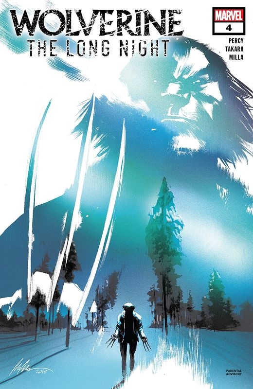 Wolverine: The Long Night - #4 (Adaptation) by Ben Percy
