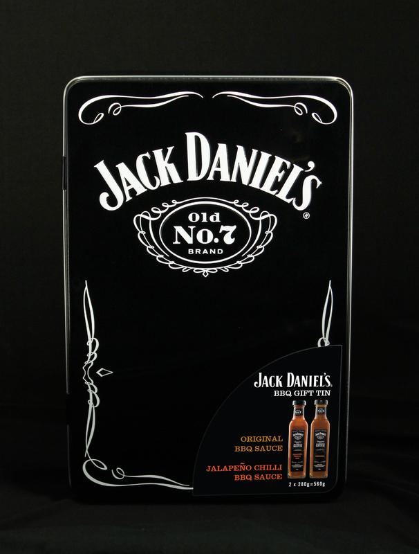 Jack Daniel's: Old No. 7 BBQ Sauce Gift Tin - 2 x 280g