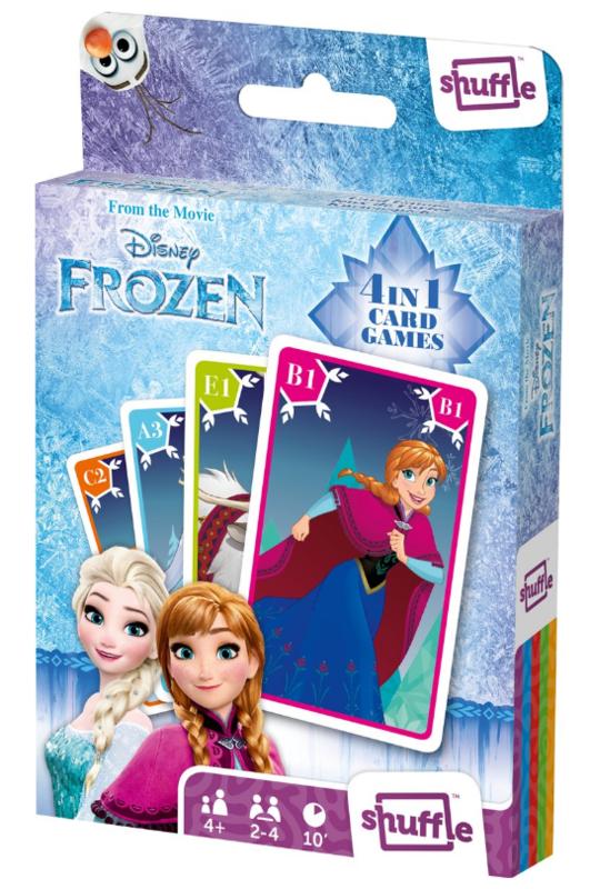 Shuffle: 4-In-1 Card Games - Frozen
