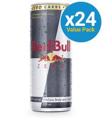 Red Bull Zero - 250ml (24 Pack) image