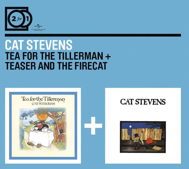 2FOR1: Tea for the Tillerman/Teaser & the Firecat by Cat Stevens