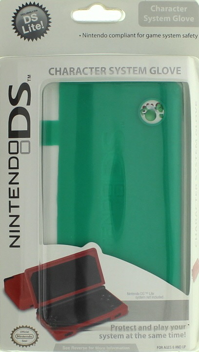 DS Lite Character Emblem System Glove - Green for Nintendo DS
