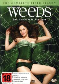 Weeds - Complete Season 5 (3 Disc Set) DVD