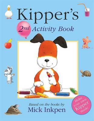 Kipper: Kipper Activity Book 2 by Mick Inkpen image