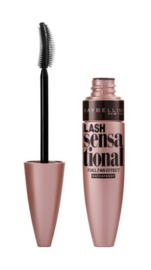 Maybelline: Lash Sensational Waterproof Mascara (Blackest Black)