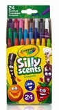 Crayola: Silly Scents - Mini Tiwstable Crayons (24-Pack)