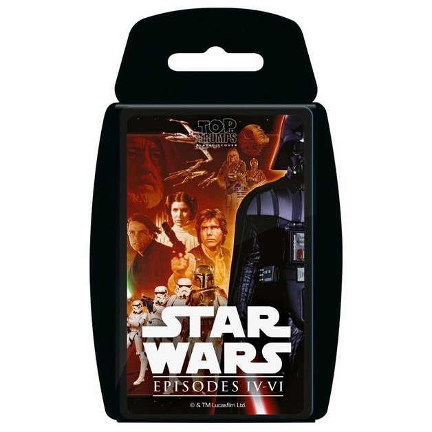 Top Trumps - Star Wars IV-VI