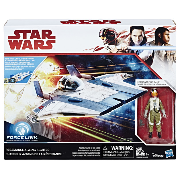 Star Wars: Pilot Tallie & Resistance A-Wing Fighter 2 Pack