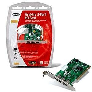 Belkin IEEE 1394 FireWire PCI Card image