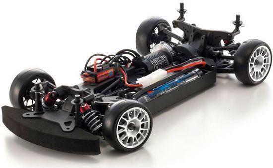 Kyosho EP FAZER VE PORSCHE 918 Spyder Si RC 1/10 Car Readyset image
