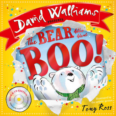 The Bear Who Went Boo! [Book & CD] by David Walliams