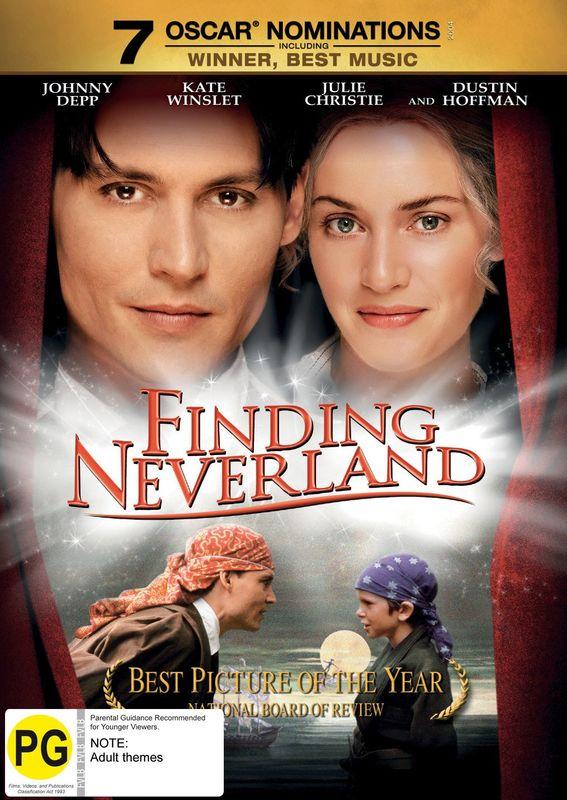 Finding Neverland on DVD