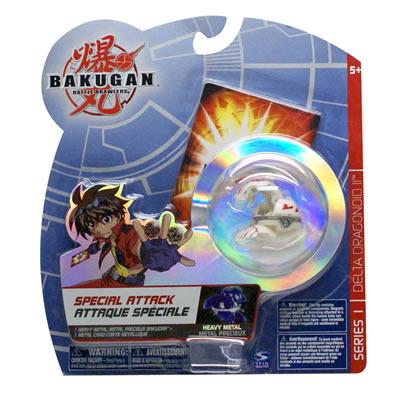 Bakugan Special Attack Spin Dragonoid - Black