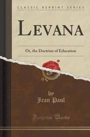 Levana by Jean Paul