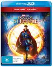 Doctor Strange on Blu-ray, 3D Blu-ray
