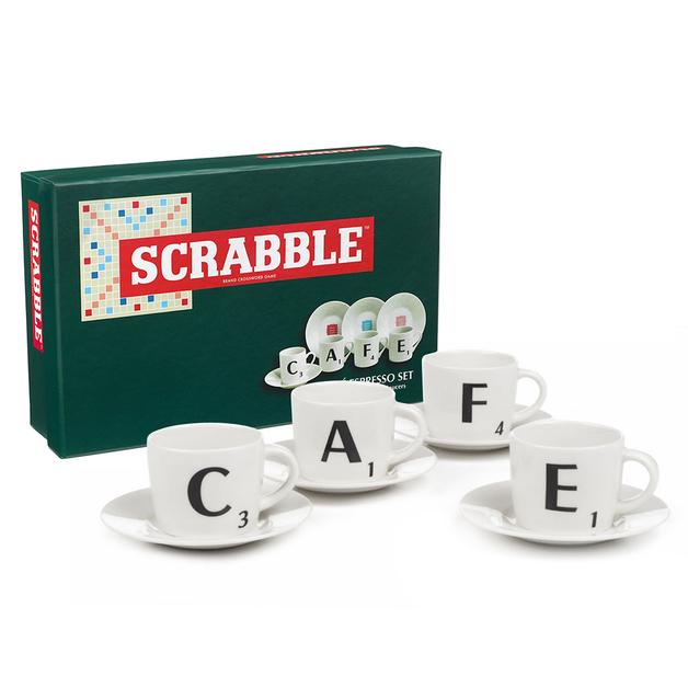 Scrabble Espresso Gift Set